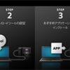 アプリケーションのダウンロード方法 | カメラアプリケーションダウンロードサービス